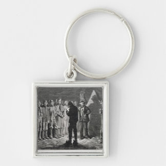 Confederate Roll-call Key Ring