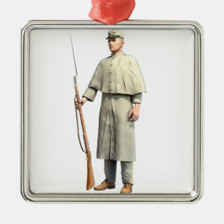 Confederate Soldier Guard Christmas Ornament