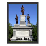 Confederate Soldiers- Austin, Texas Postcards