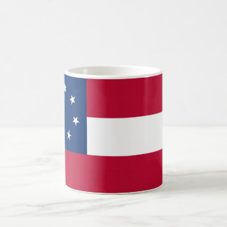 Confederate States of America Flag Basic White Mug