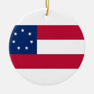 Confederate States of America Flag Christmas Ornament