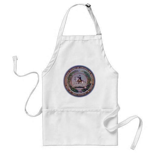 Confederate States of America Seal Aprons