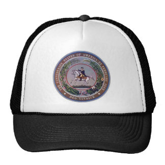 Confederate States of America Seal Cap