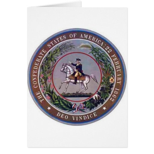 Confederate States of America Seal Cards