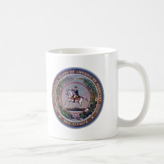 Confederate States of America Seal Coffee Mug