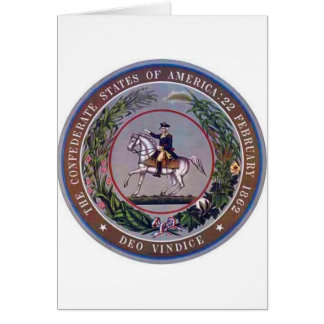 Confederate States of America Seal Greeting Card