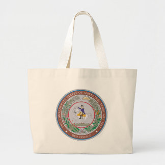 Confederate States of America Seal Large Tote Bag