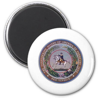 Confederate States of America Seal Refrigerator Magnet