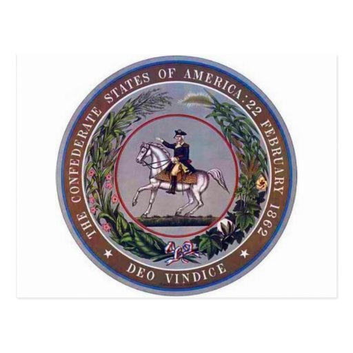 Confederate States of America Seal Post Card