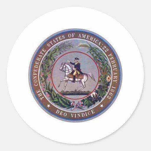 Confederate States of America Seal Sticker