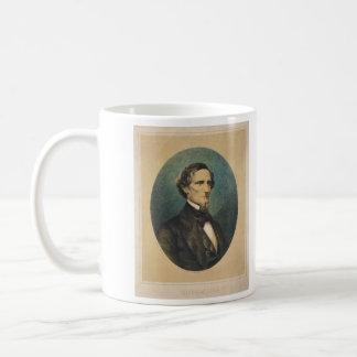 Confederate States President Jefferson Davis Coffee Mug