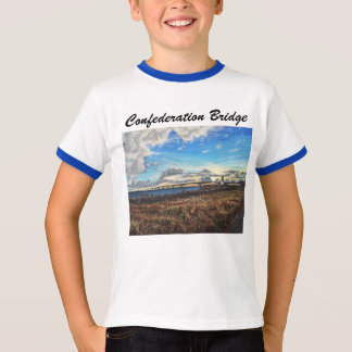 Confederation Bridge Sunset, PEI T-Shirt