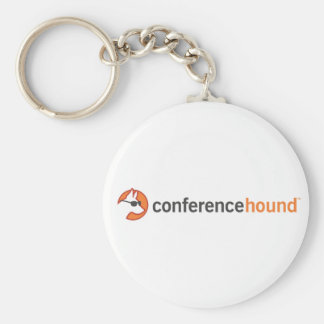 Conference Hound Swag Basic Round Button Key Ring
