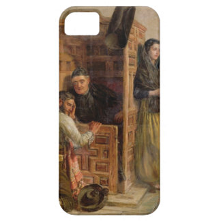 Confession, 1862 (oil on canvas) iPhone 5 covers