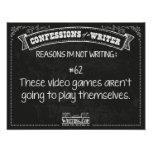 Confessions of a Writer: Reason #62 Poster