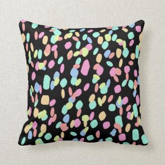 Confetti - Black Cushion
