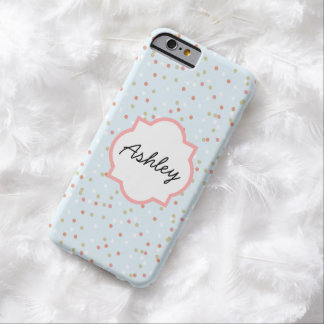 Confetti Cake • Blue Buttercream Frosting Barely There iPhone 6 Case