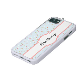Confetti Cake • Blue Buttercream Frosting iPhone 5/5S Case