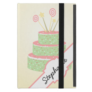 Confetti Cake • Green Birthday Cake iPad Mini Case