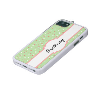 Confetti Cake • Green Buttercream Frosting iPhone 5 Cover