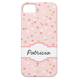 Confetti Cake • Pink Buttercream Frosting iPhone 5 Cases