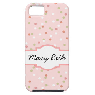 Confetti Cake • Pink Buttercream Frosting Tough iPhone 5 Case