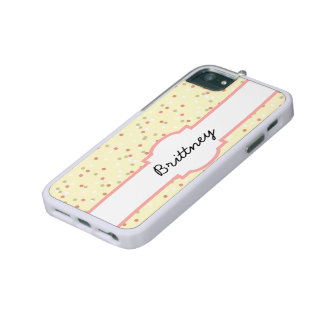 Confetti Cake  • Yellow Buttercream Frosting iPhone 5/5S Cases