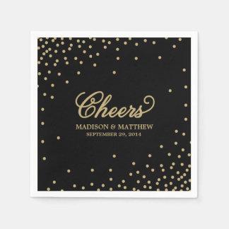 Confetti Cheers   Personalized Paper Napkins