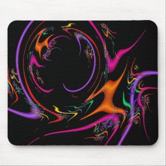 Confetti Dance Colorful Mouse Pad