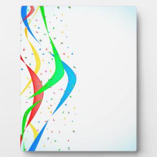 Confetti Display Plaques
