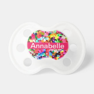Confetti Baby Pacifiers
