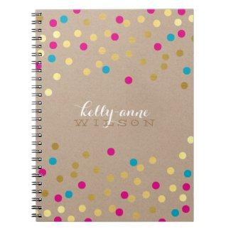 Confetti Notebook