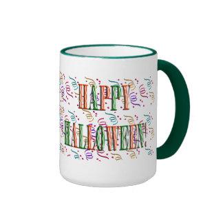 Confetti & Halloween Festival Text Mug