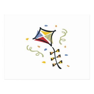 Confetti Kite Postcard