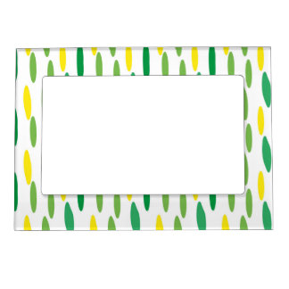 Confetti, modern pattern magnetic picture frame