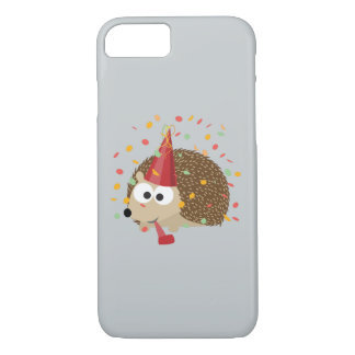 Confetti Party Hedgehog iPhone 7 Case