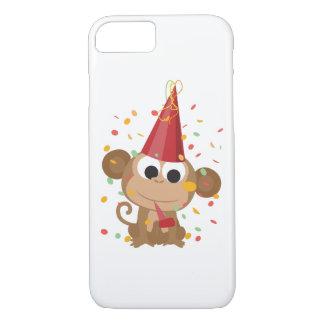 Confetti Party Monkey iPhone 7 Case