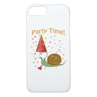 Confetti Party Time! Snail iPhone 7 Case