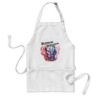 Confetti Pink Ride Free Skull Aprons