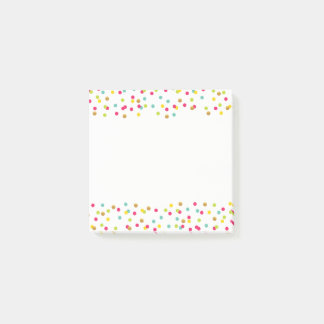 Confetti Post-It Notes