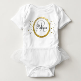 Confetti Silver/Gold Monogram Shirt