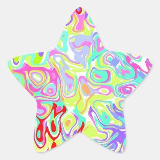 Confetti Star Stickers ~ custom to personalize!
