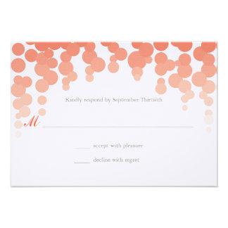Confetti Wedding Response Announcement