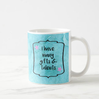 Confidence Boost Motivation Affirmation Quote Coffee Mug