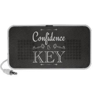 Confidence Is Key Mini Speakers
