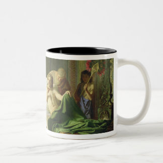 Confidence of Alexander the Great Two-Tone Mug