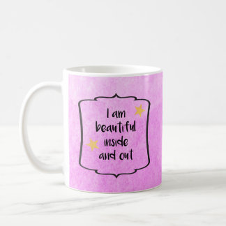 Confidence Optimism Positive Daily Affirmation Coffee Mug