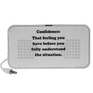 Confidence iPod Speakers