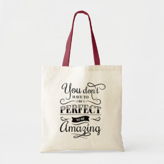 Confidence Success Attitude Life Goals Quote Tote Bag