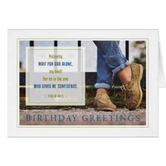 Confidence - Young Man's Birthday Card